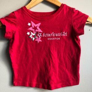 3/$15🌴 American Girl T-Shirt Size XS